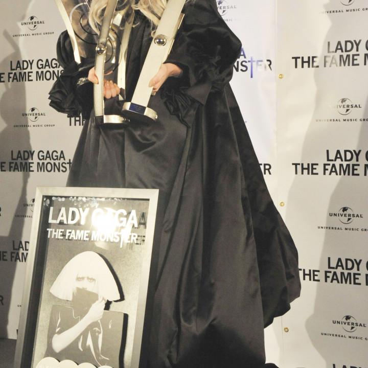 Lady Gaga Platinverleihung 10