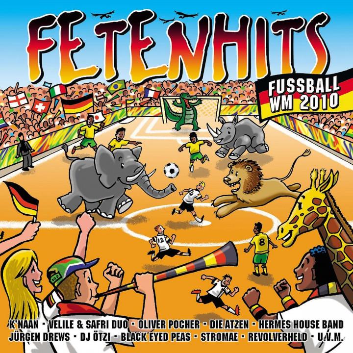 Fetenhits Fussball 2010