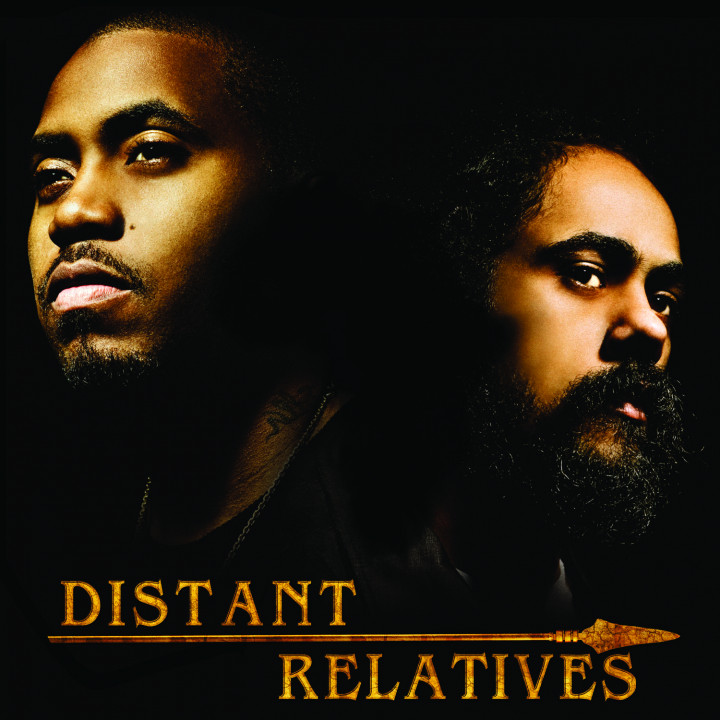 "Nas & Damian ""Jr. Gong Marley Album Cover 2010"