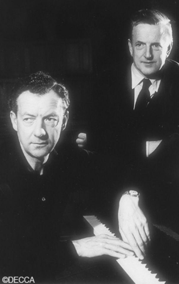 Benjamin Britten, Ein kreatives Paar