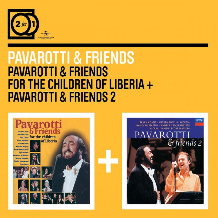 2for1: Pavarotti & Friends / Pavarotti & Friends 2