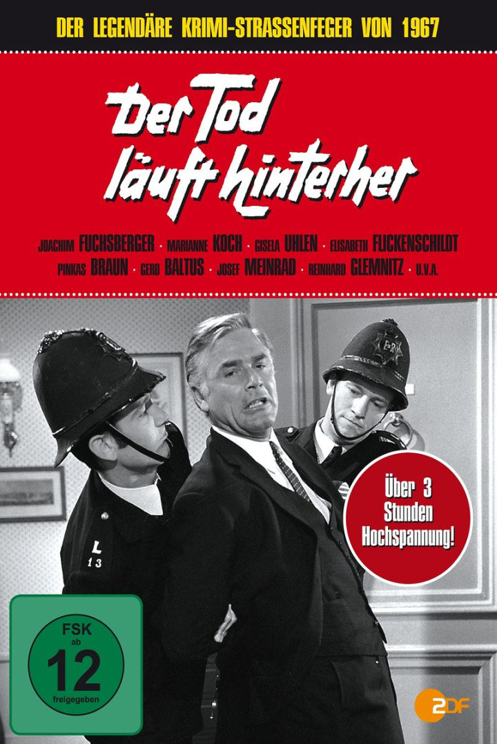 Der Tod läuft hinterher (ZDF Krimi-Straßenfeger): Reinecker,Herbert