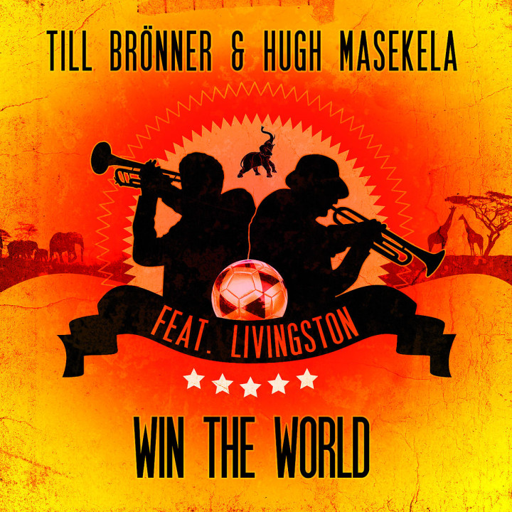 Win The World (2-Track): Brönner,Till & Masekela,Hugh feat. Livingston