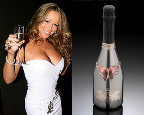 Mariah Carey, Mariah Carey stellt eigenen Schampus ins Regal