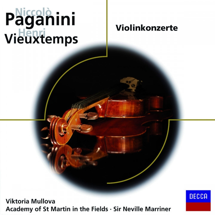 Violinkonzerte/+: Mullova/Marriner/AMF