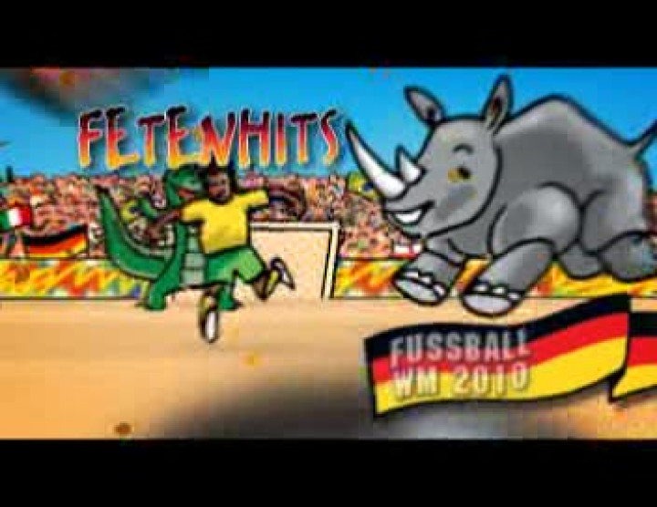 Fetenhits Fussball WM 2010 - TV Spot