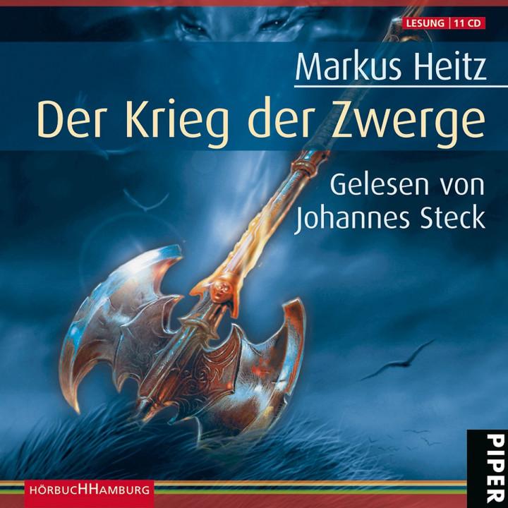 Markus Heitz: Der Krieg der Zwerge: Steck,Johannes