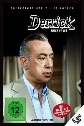 Derrick, Derrick Collector's Box Vol. 7 (5 DVD/Ep. 91-105), 04032989602254