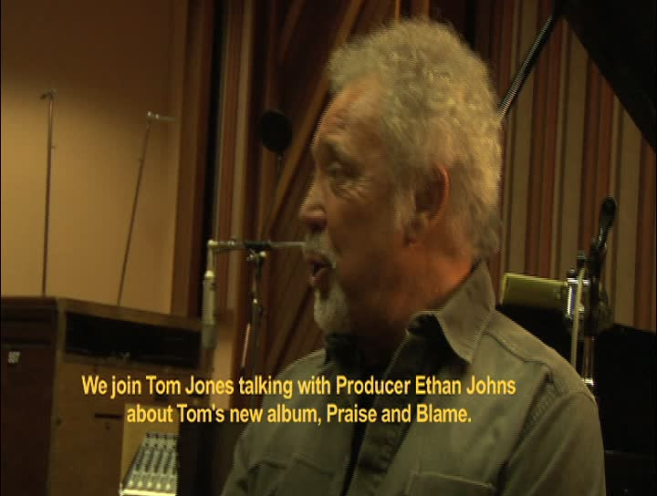 "Tom Jones ueber den Song ""Burning Hell"""