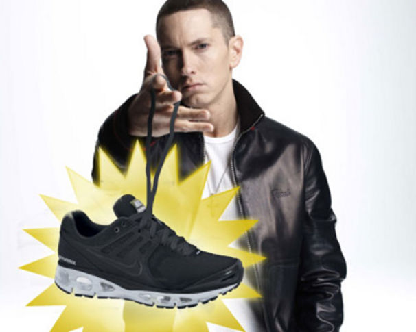 Eminem, Gewinne Eminem Nike Sneaker