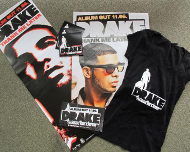 Drake, Gewinne jetzt ein tolles Drake Fan Package!