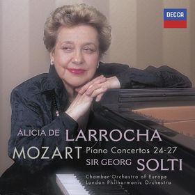 Alicia de Larrocha, Mozart Klavierkonzerte 24, 25, 26, 27, 00028947824206
