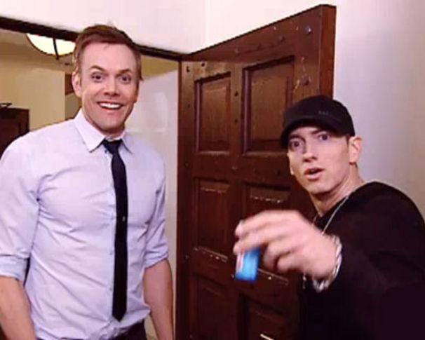 Eminem, Eminem eiskalt erwischt!