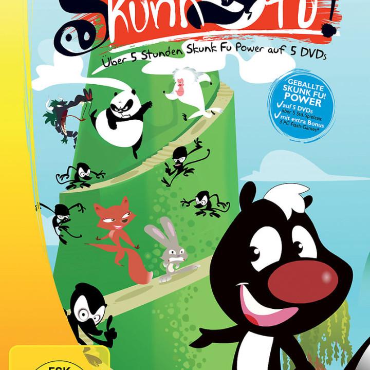 Box-Set 1 (Episode 1-12): Skunk Fu
