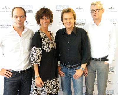Uwe Busse, Uwe Busse verlängert Vertrag bei Koch Universal Music