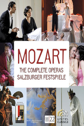 Diverse Künstler, Mozart 22:The complete Operas (33 DVD set), 00044007346006