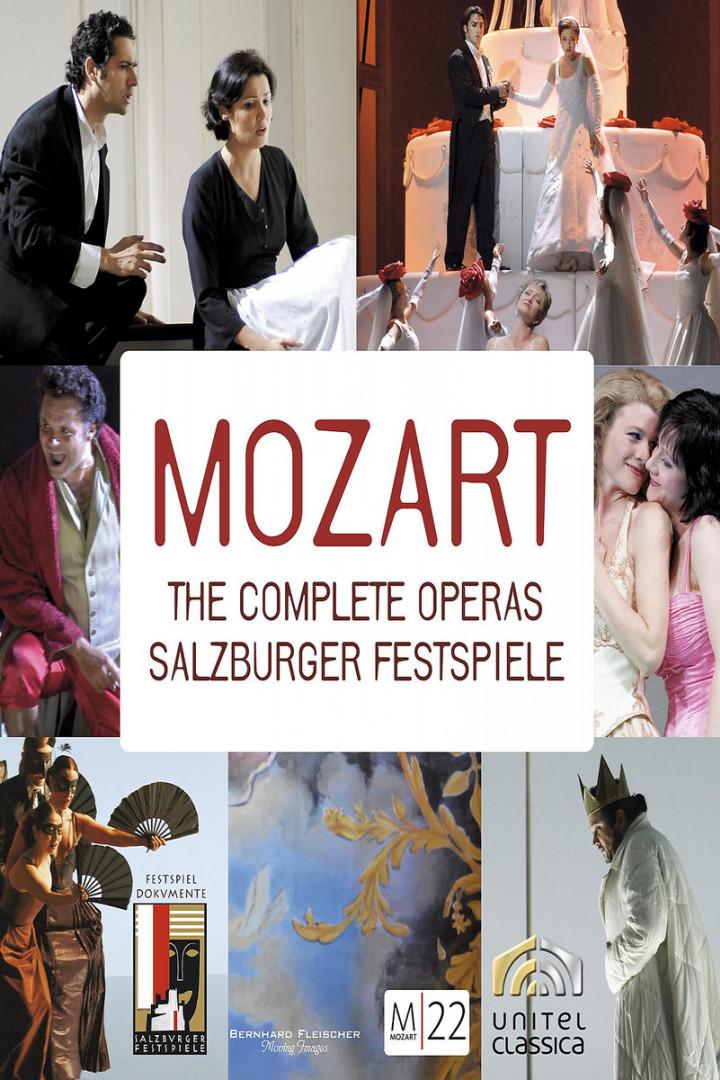 Mozart 22:The complete Operas (33 DVD Set): Netrebko/Damrau/D'Arcangelo/Pape/Harnoncourt/+