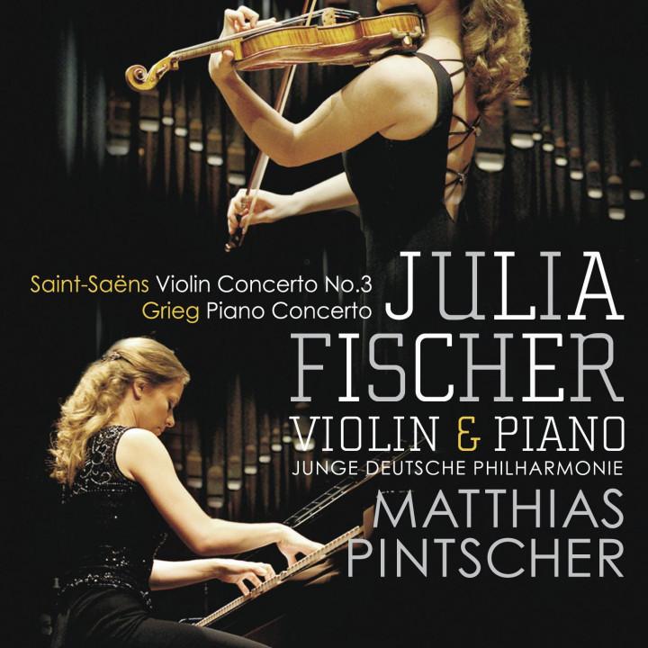 Julia Fischer – Saint-Saens – Grieg 2010