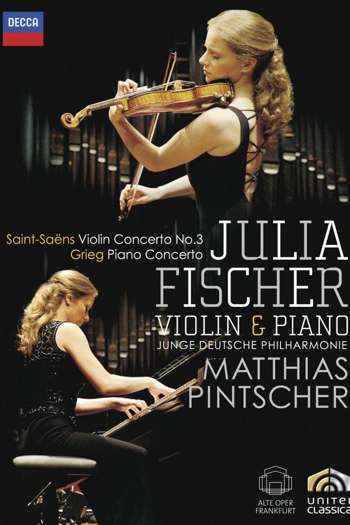 Julia Fischer - Saint-Saens - Grieg 2010