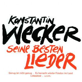 Konstantin Wecker, Liederbuch, 00042283538429