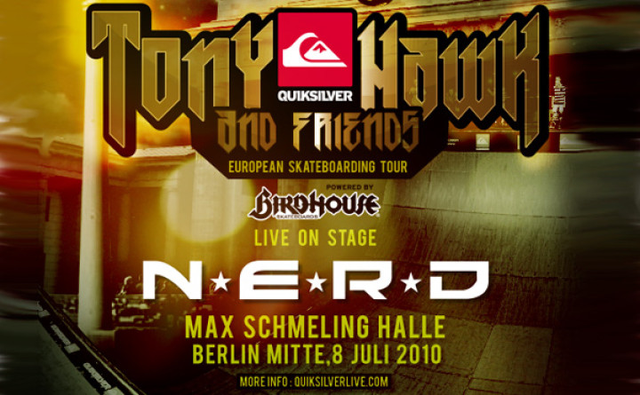 N.E.R.D in Berlin