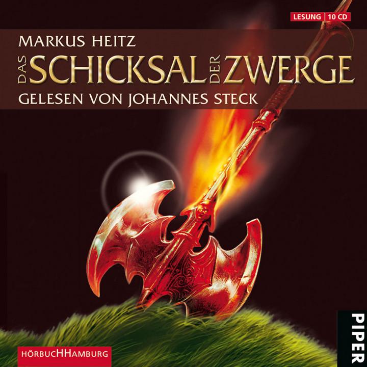 Markus Heitz: Das Schicksal der Zwerge: Steck,Johannes
