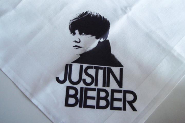 Justin Bieber - Taschentuch