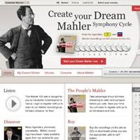 Gustav Mahler, Eine Seite für Gustav Mahler