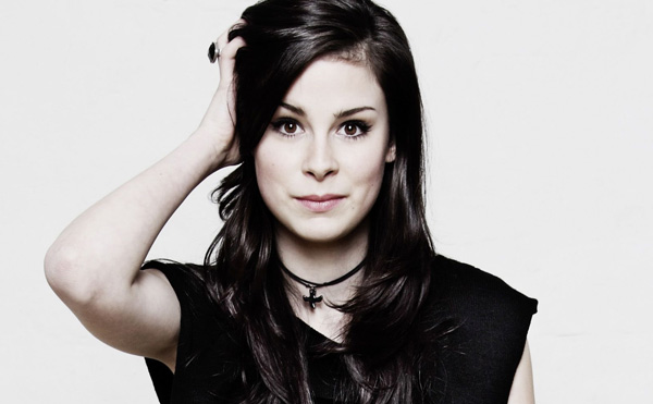 Lena, Interview: Lena beim Soundcheck