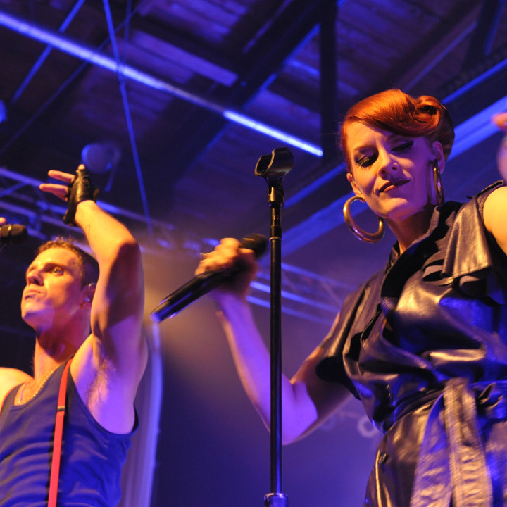 Scissor Sisters live in Berlin 13.07.10 − 02