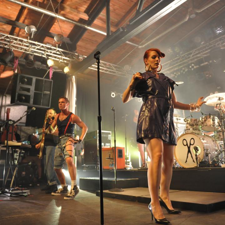 Scissor Sisters live in Berlin 13.07.10 − 12