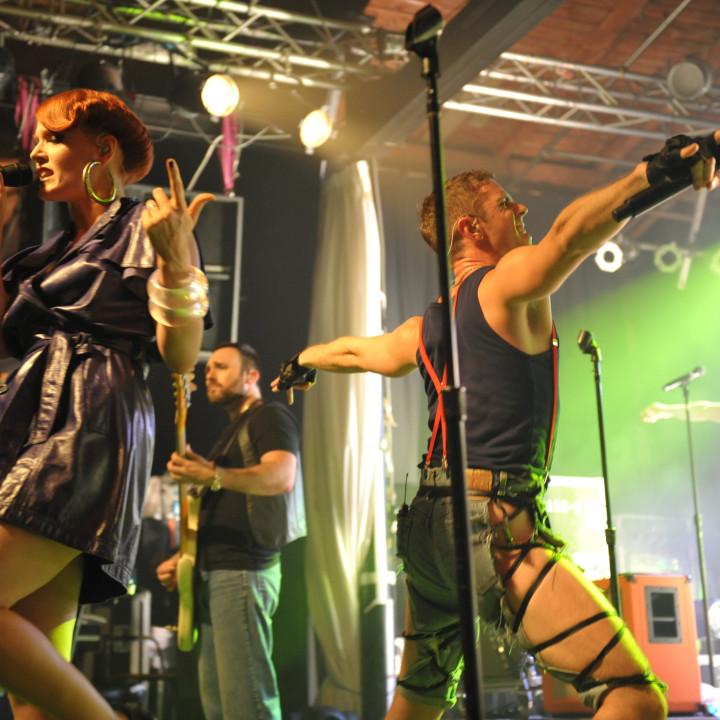 Scissor Sisters live in Berlin 13.07.10 − 14
