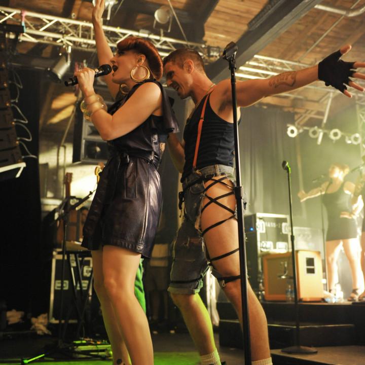 Scissor Sisters live in Berlin 13.07.10 − 17
