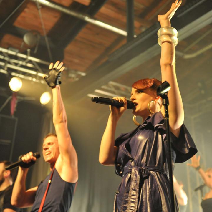 Scissor Sisters live in Berlin 13.07.10 − 16
