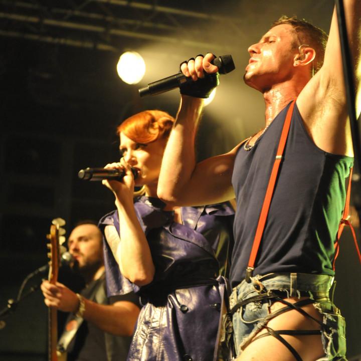 Scissor Sisters live in Berlin 13.07.10 − 20