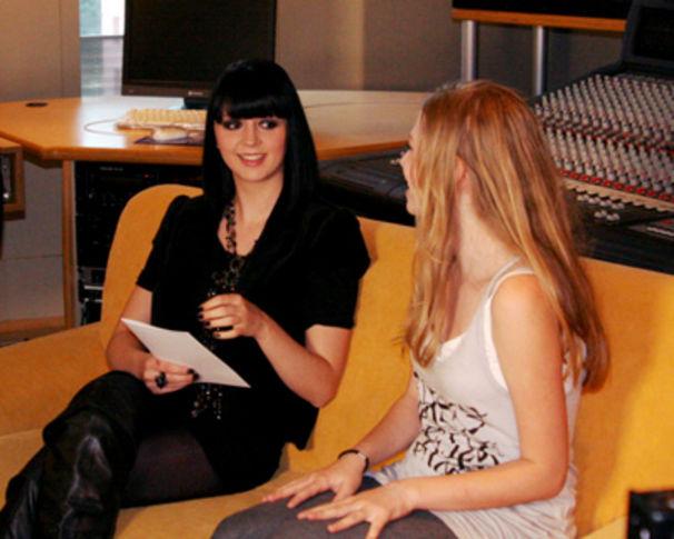 Eisblume, Ria in der Jury von Teenage Rockstar
