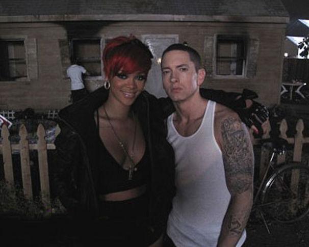 Eminem, Eminem & Rihanna: Erste Eindrücke vom Videoset