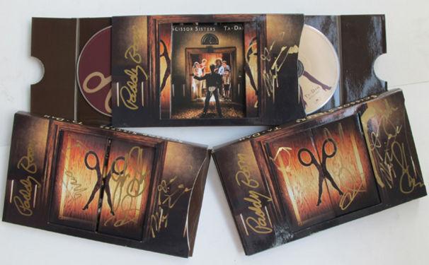 Scissor Sisters, Gewinne signierte Deluxe-CDs