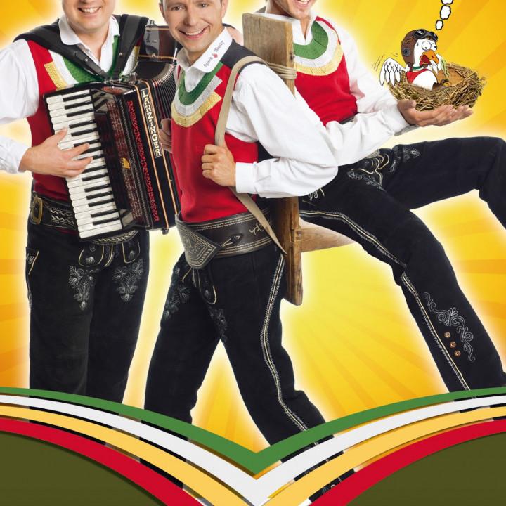 Die Jungen Zillertaler—Pressebilder 2010