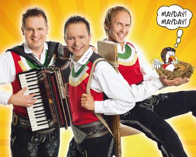 Die Jungen Zillertaler, Das neue Album Mayday Mayday – Spaß an Bord - ab jetzt überall erhältlich!