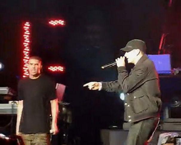 Eminem, Eminem unterstützte Drake in Toronto