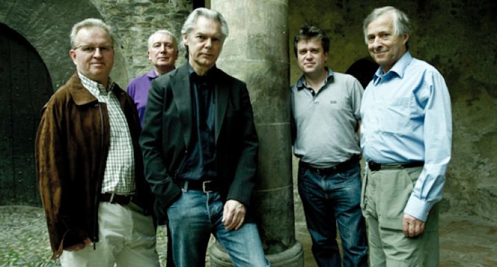 David James, Gordon Jones, Jan Garbarek, Steven Harrold, Rogers Covey-Crump © Paolo Soriani / ECM Records