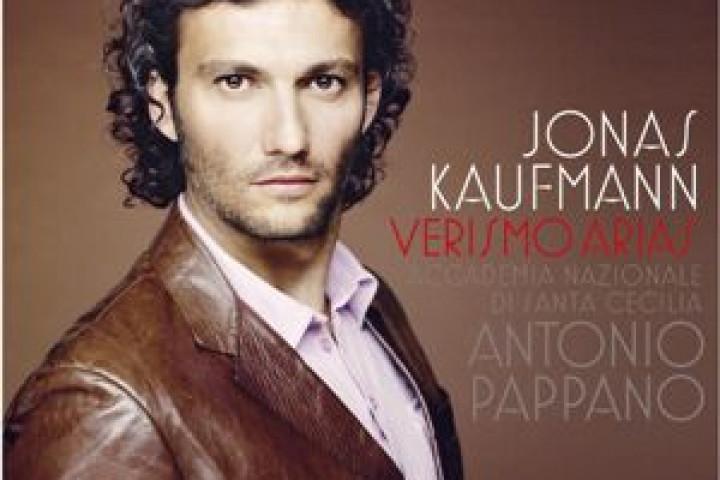 Jonas Kaufmann Cover zum Album Verismo