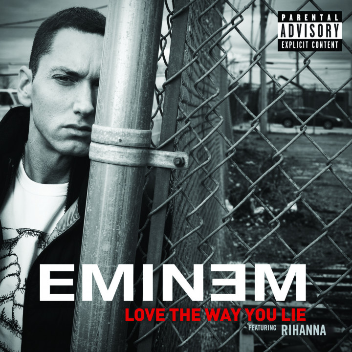 Eminem Single Cover Love The Way You Lie feat. Rihanna
