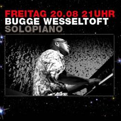 Bugge Wesseltoft, Bugge Wesseltoft am 20.08. beim Modernsolopiano Festival10