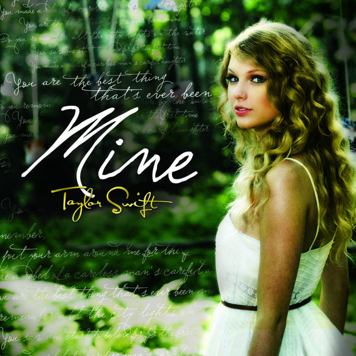 Taylor Swift Singlecover 2010 - MINE