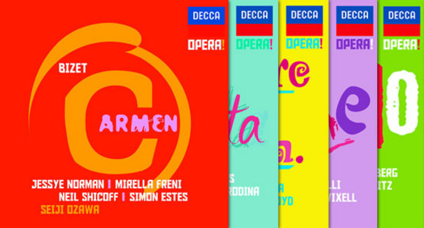 Carmen, Mimi, Violetta