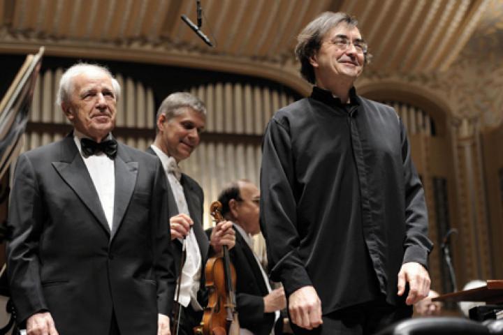 Pierre Boulez & Pierre Laurent Aimard © Roger Mastroianni