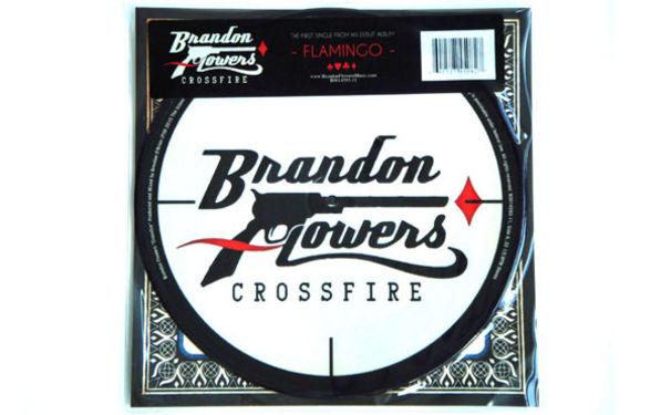Brandon Flowers, Brandon Flowers Gewinnspiel zur Single Crossfire