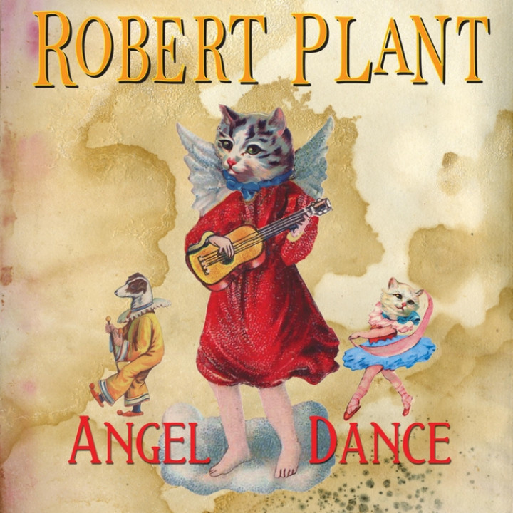 Robert Plant Angel Dance Single Cover 2010